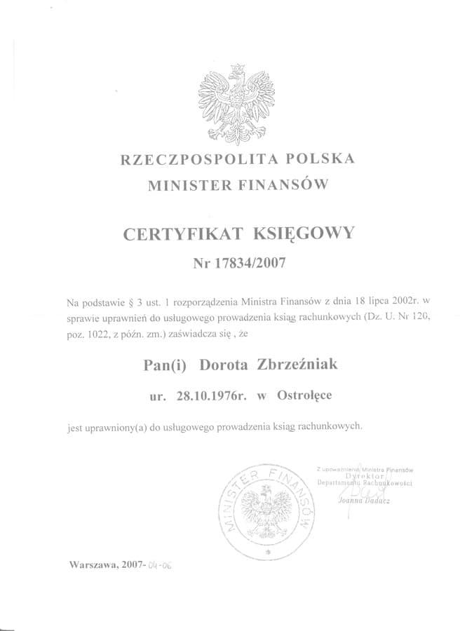 biuro-rachunkowe-deklaracja-certyfikat-ksiegowy-17834-dorota-zbrzezniak